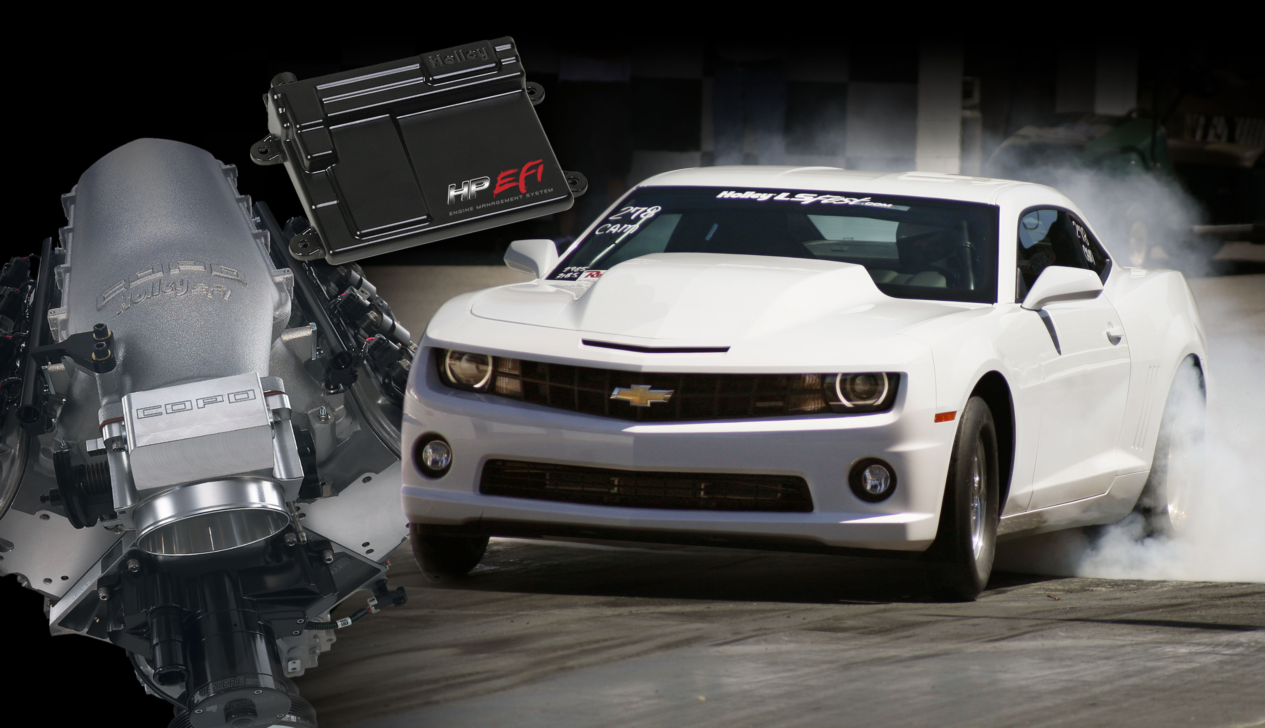 bangshift big news: all new copo camaros will be holley equipped